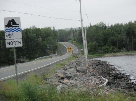 and begin the Cabot Trail