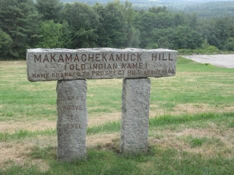 original name of Prospect Hill