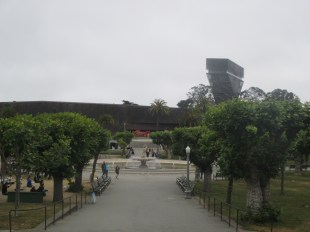 deYoung, with tower