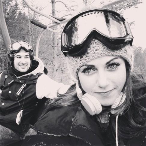 Snowboard together