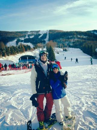 Plan a snowboarding weekend
