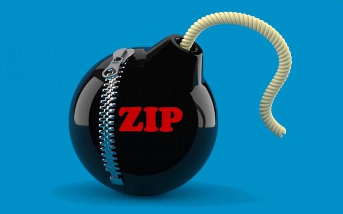 Crean una bomba ZIP de 46 MB que se expande a 4,5 Petabytes, inutilizando cualquier Computadora