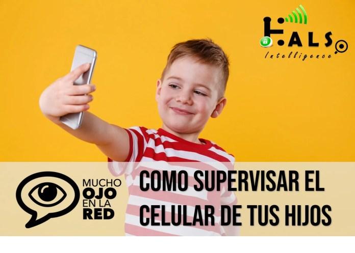 Como supervisar el celular de tus hijos