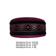 paarse halsband, zwarte, lederen, mooie kleuren