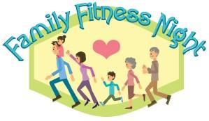 Family Fitness Night Banner