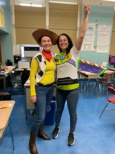 Halloween Buzz and Woody