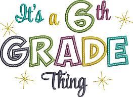 6th Grade Banner