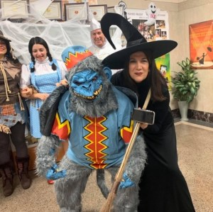 Halloween - The Wicked Witch and Her Flying Monkey