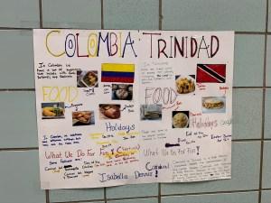Cultural Posters - Colombia & Trinidad