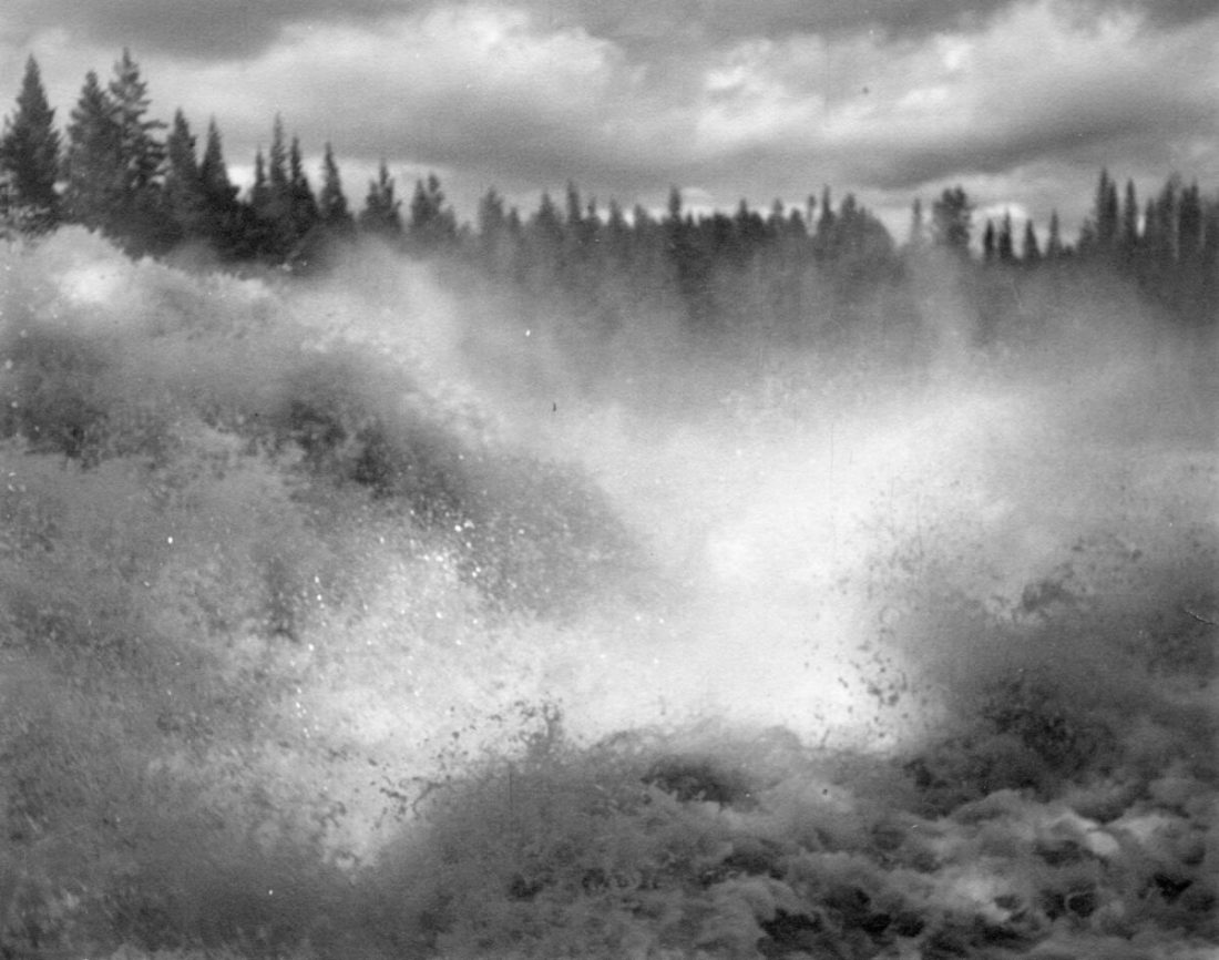 Virvlande vattenfall