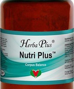 brun transparent burk kosttillskott herba plus nutri plus järn