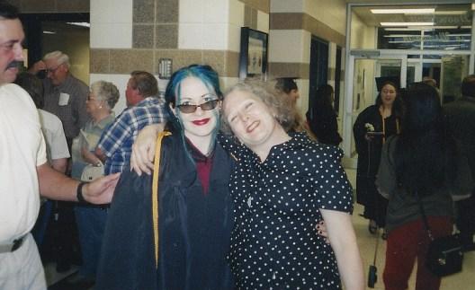 Highschool Graduation June 2004 - Hal and Mom