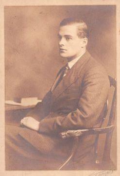 Charles John Halswell Kemeys-Tynte, 9th Baron Wharton (12 January 1908 – 22 July 1969) by Lafayette, 18 January 1929.