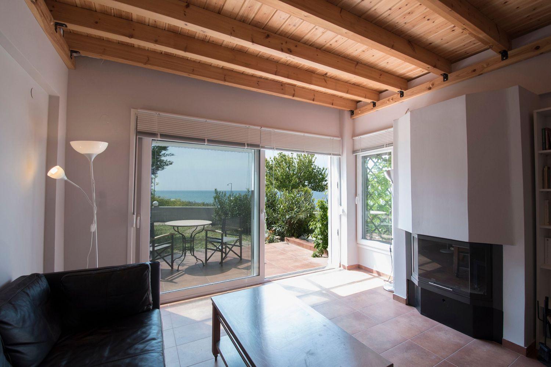 Living room towards Patio