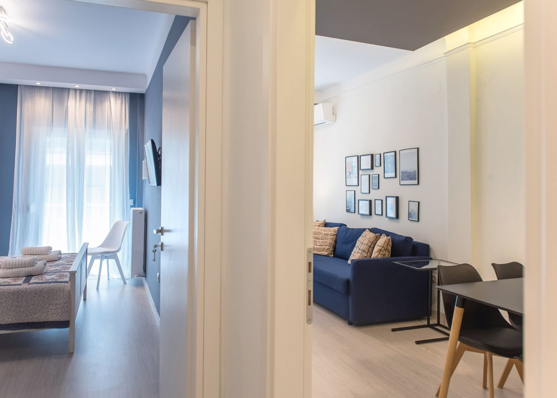 Living Room & Master Bedroom