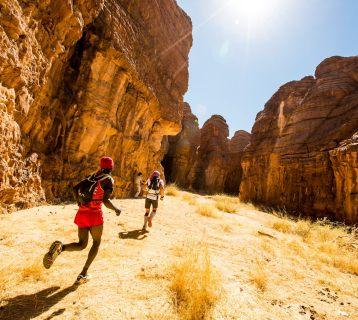 le TREG une course dans les magnifique paysages du Sahara au Tchad