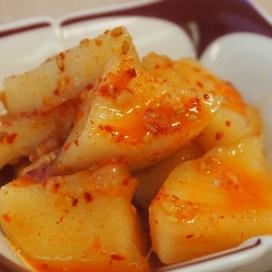 韓国料理の東村 カクテキ