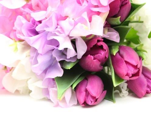花のあがた 花束