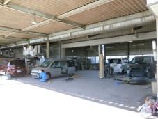 鈴定自動車 工場