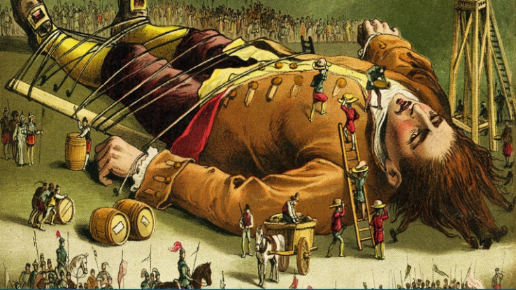 why is gullivers travels a satire