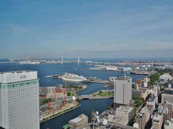 オークウッドスイーツ横浜 46階展望台
