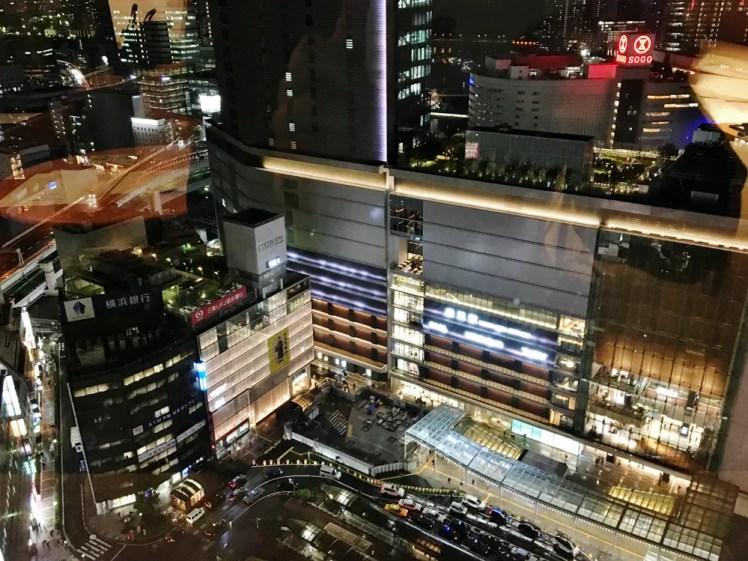 横浜駅の夜景