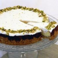 עוגת גבינה ריקוטה-לימון