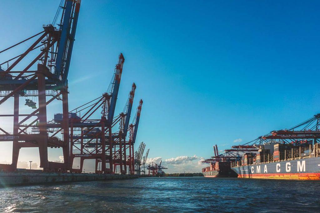 Germany - Hamburg - Port Harbor