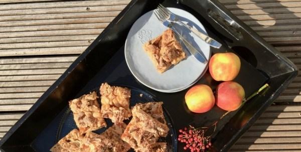 Apfelkuchen-Blech