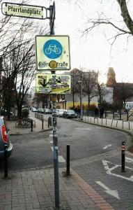 Fahrradstraße Hannover hamburgfiets