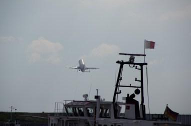 Beluga beim Start - Airbus Finkenwerder