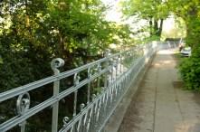 Zaun an der Elbchaussee