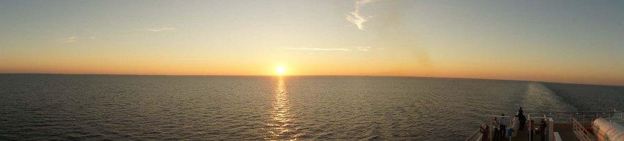 Auf der Nordsee