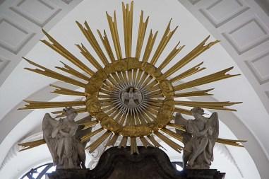 Altarspitze im Michel
