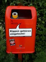 Hamburger Mülleimer