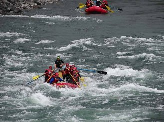 Rafting in BC