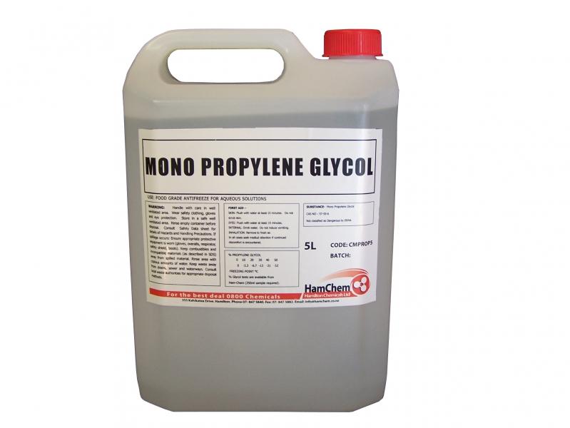 Hamilton Chemicals - Mono Propylene Glycol