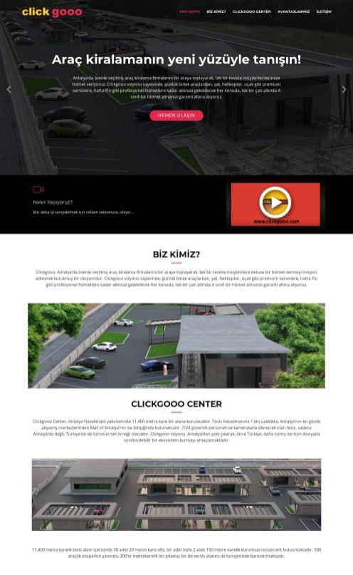 ClickGooo Web Sitesi