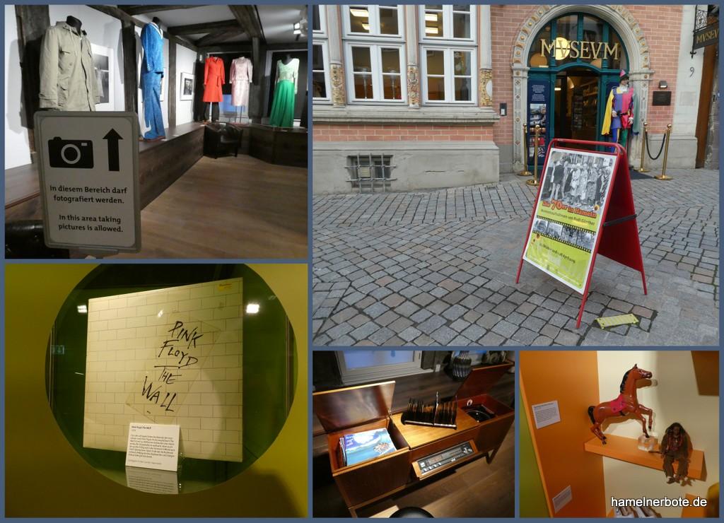 """Impressionen Sonderausstellung """"70er Jahre"""" im Museum Hameln"""