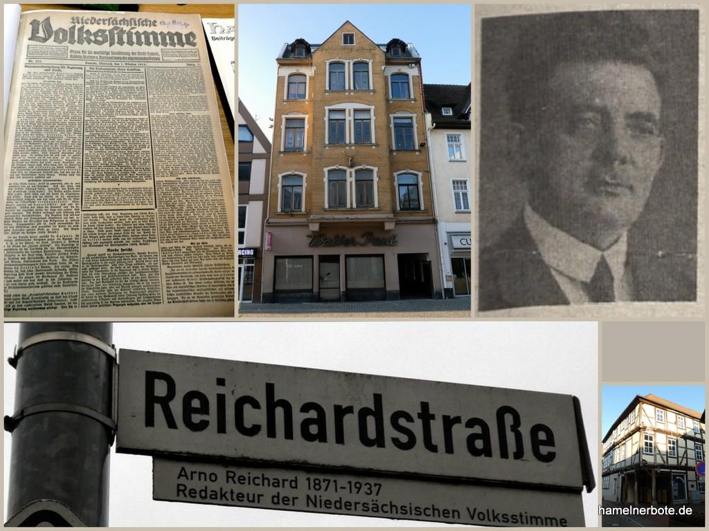Hameln bekommt eine weitere Tageszeitung und ein Arno-Reichard-Redaktionshaus in der Fußgängerzone.