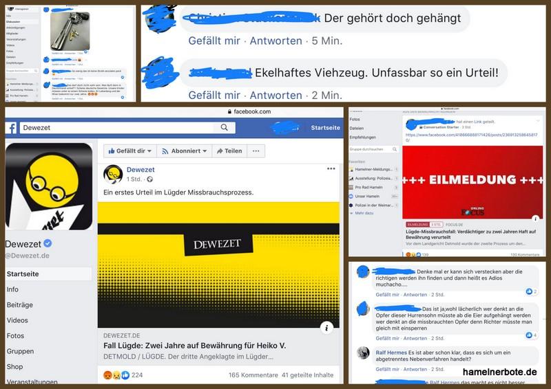 """Lügde: Die """"Volkswutstimmung"""", die bei Facebook sichtbar wird, macht mir Sorgen."""