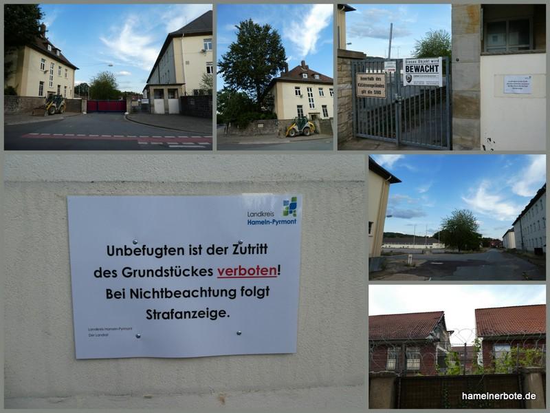 Außenimpressionen Linsingenkaserne – 14.08.2019