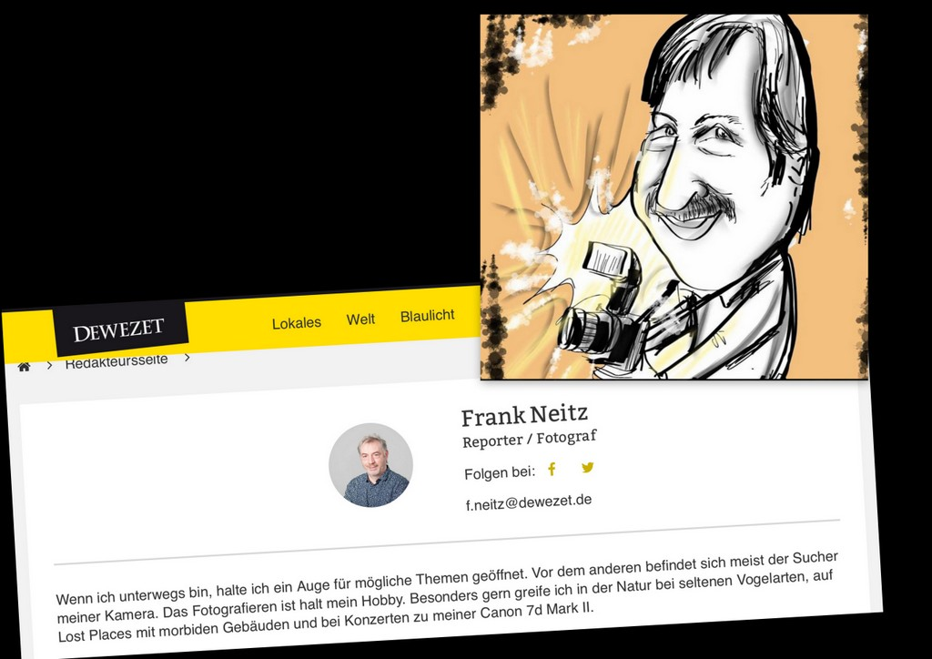 Abschiedsgruß für Frank Neitz