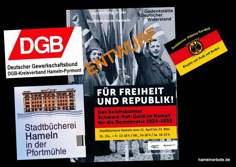 Reichsbannerausstellung in Hameln – Vorbereitungstreffen am 24.02.2020 in der Sumpfblume