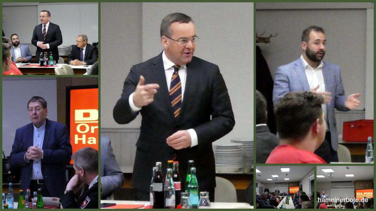 Blaulichtgespräch mit Innenminister Boris Pistorius in Hameln