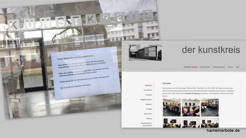 """Kunstkreis Hameln geschlossen – kleine virtuelle Einblicke in die neue Ausstellung """"Tanzbilder"""" hier:"""