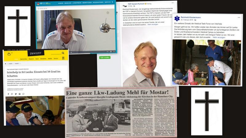 Reinhold Klostermann verstorben. Zum Gedenken: