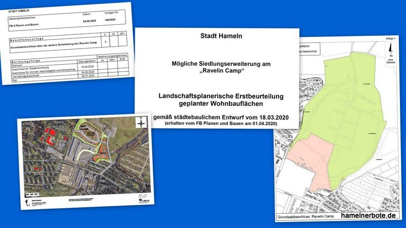 "Baugebiet ""Ravelin Camp"" – Nächste Runde:"