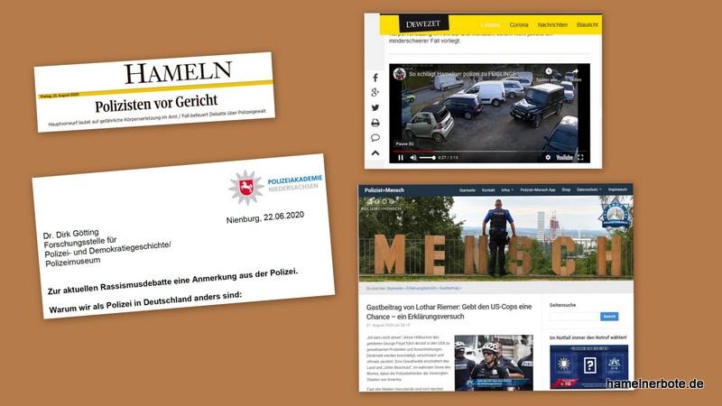 Täterfestnahme im Jahr 2018 wird 2020 in einem Gerichtsverfahren gegen Polizeibeamte aus Hameln verhandelt.