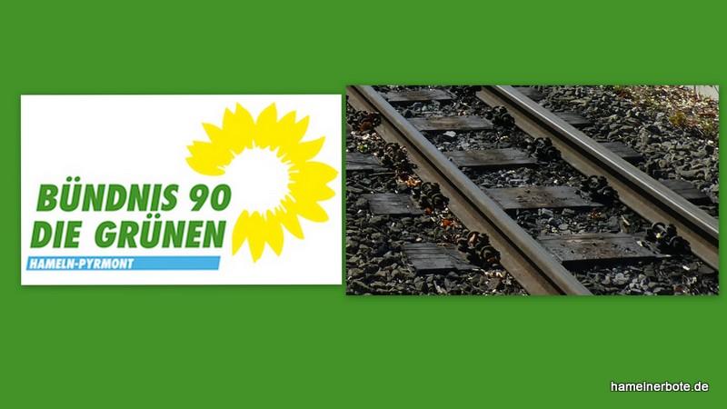 Grüne HM-PY: Offener Brief zur Elektrifizierung der Bahnstrecke Hameln-Elze